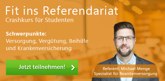 Crashkurs Fit ins Referendariat